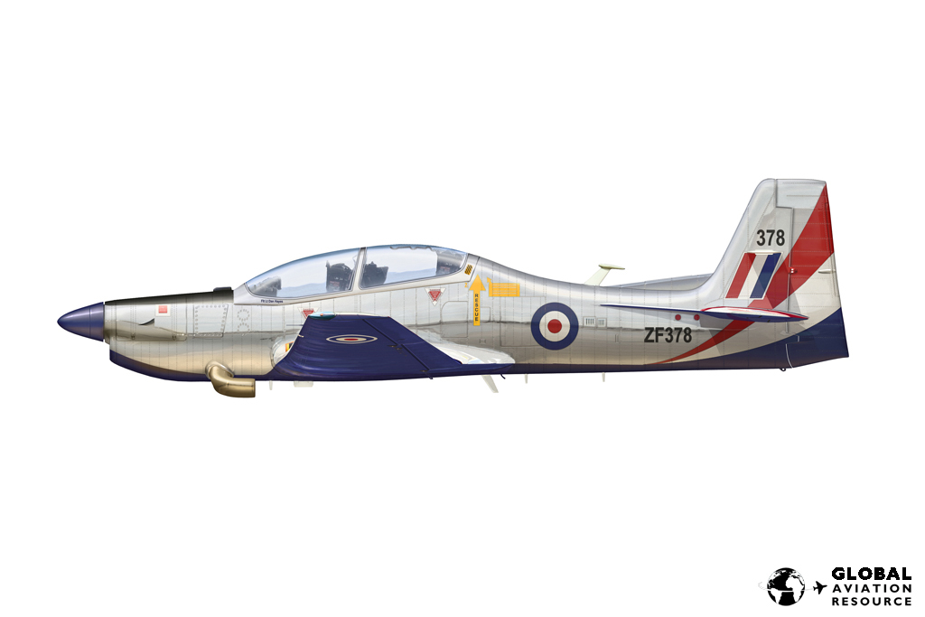 Tucano 2012 Display Scheme