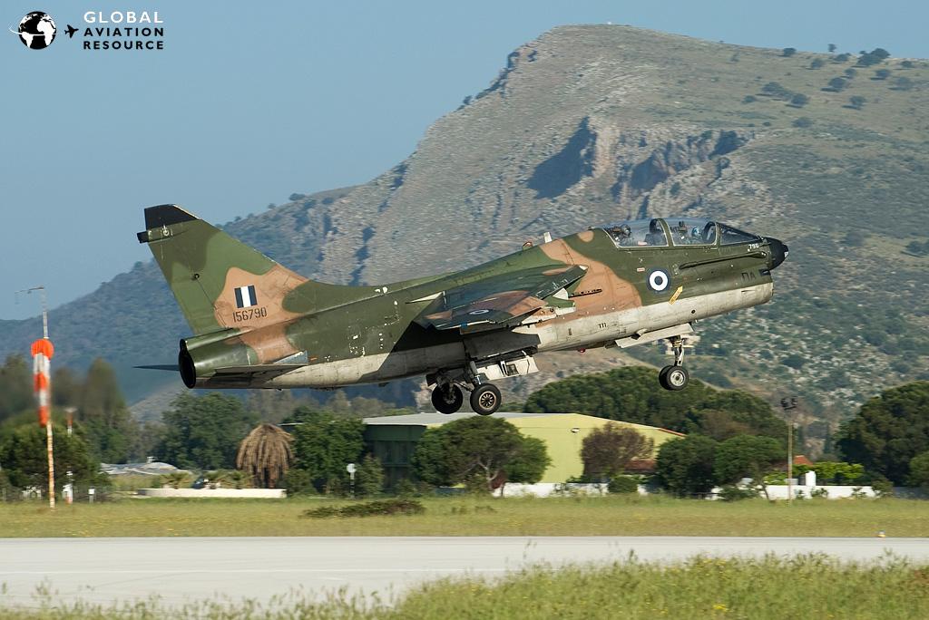Hellenic Air Force A7 Corsairs Αεροπορία, Αεροπλάνα