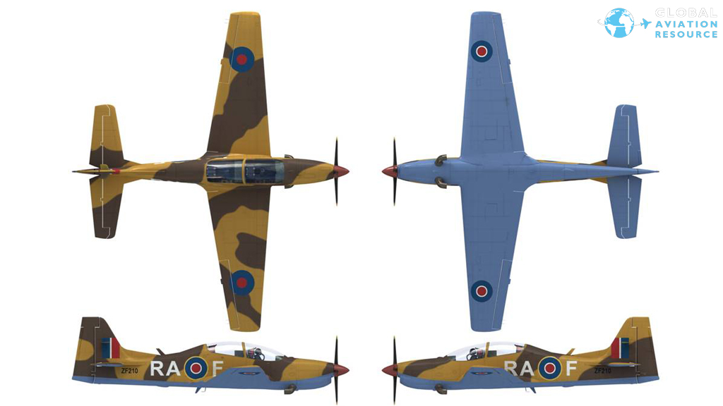 Tucano 2013 Display Scheme
