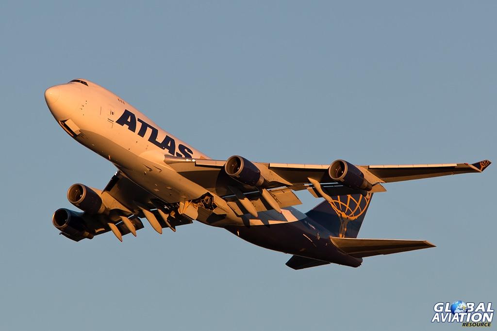 Atlas Air Boeing 747-400F - © Paul Filmer - Global Aviation Resource