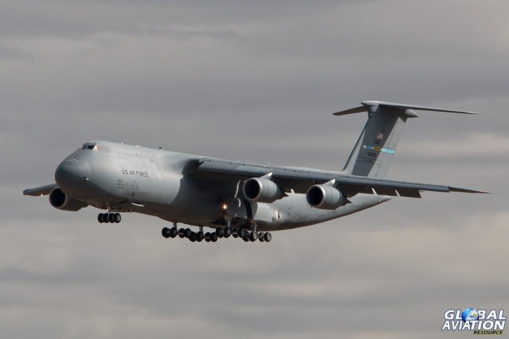 USAF C-5M - © Paul Filmer - Global Aviation Resource