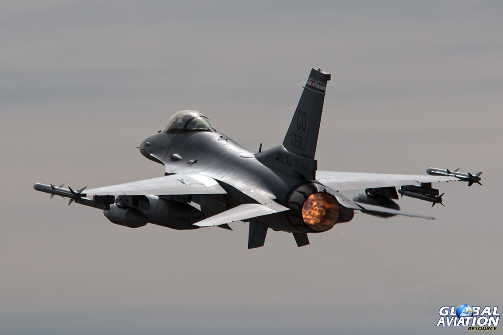 F-16C departing - © Paul Filmer - Global Aviation Resource