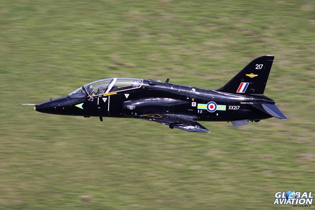Hawk T.1 XX217 in June 2009 - © John Higgins - Global Aviation Resource