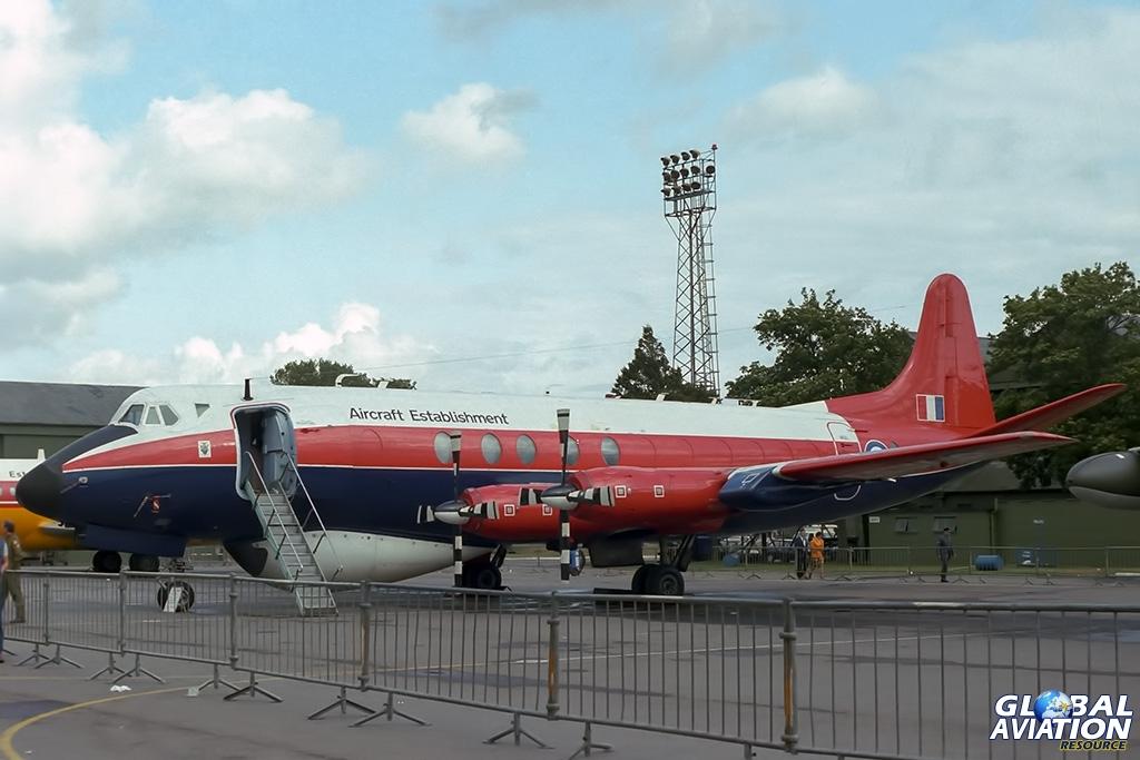 RAE Viscount XT575 - © Paul Filmer- Global Aviation Resource