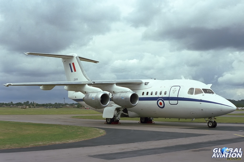 241OCU BAe146 CC.1 ZD696 - © Paul Filmer- Global Aviation Resource