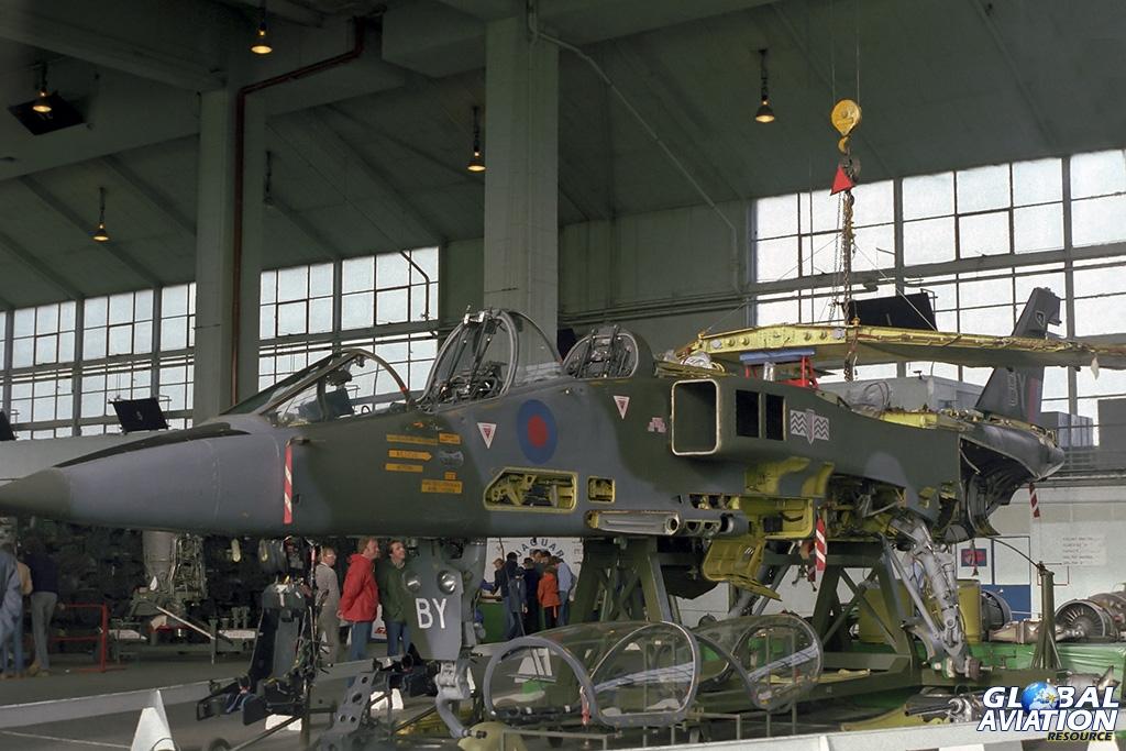 17 Squadron Jaguar GR.1 XX845 - © Paul Filmer- Global Aviation Resource