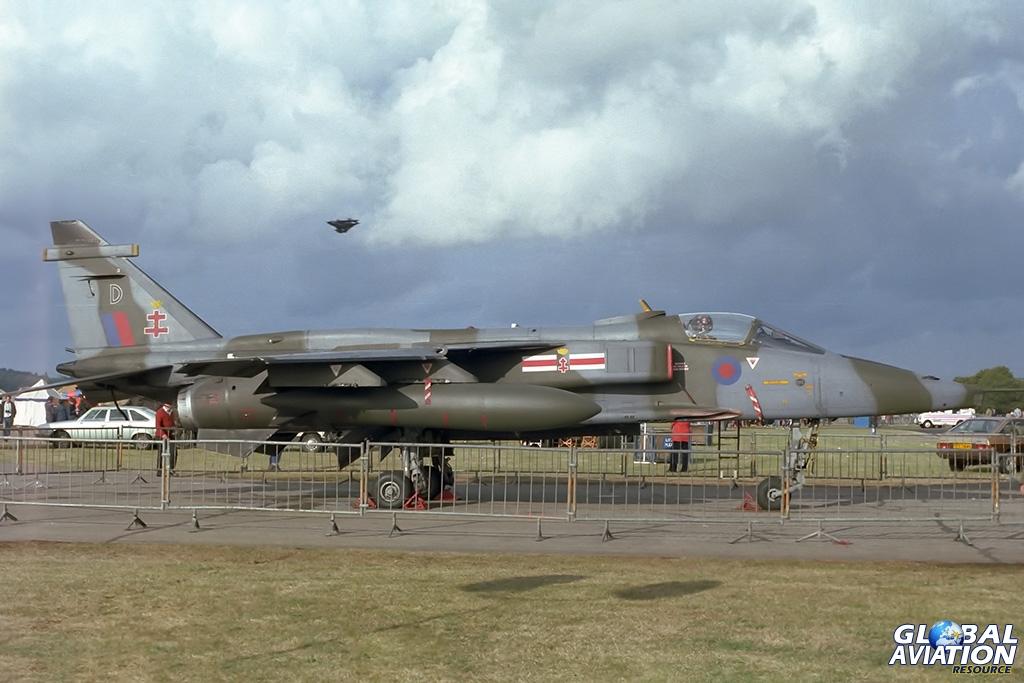41 Squadron Jaguar GR.1 XZ106 - © Paul Filmer- Global Aviation Resource