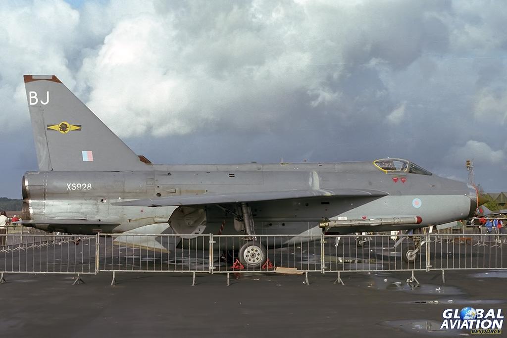 11 Squadron Lightning F.6 XS928 - © Paul Filmer- Global Aviation Resource