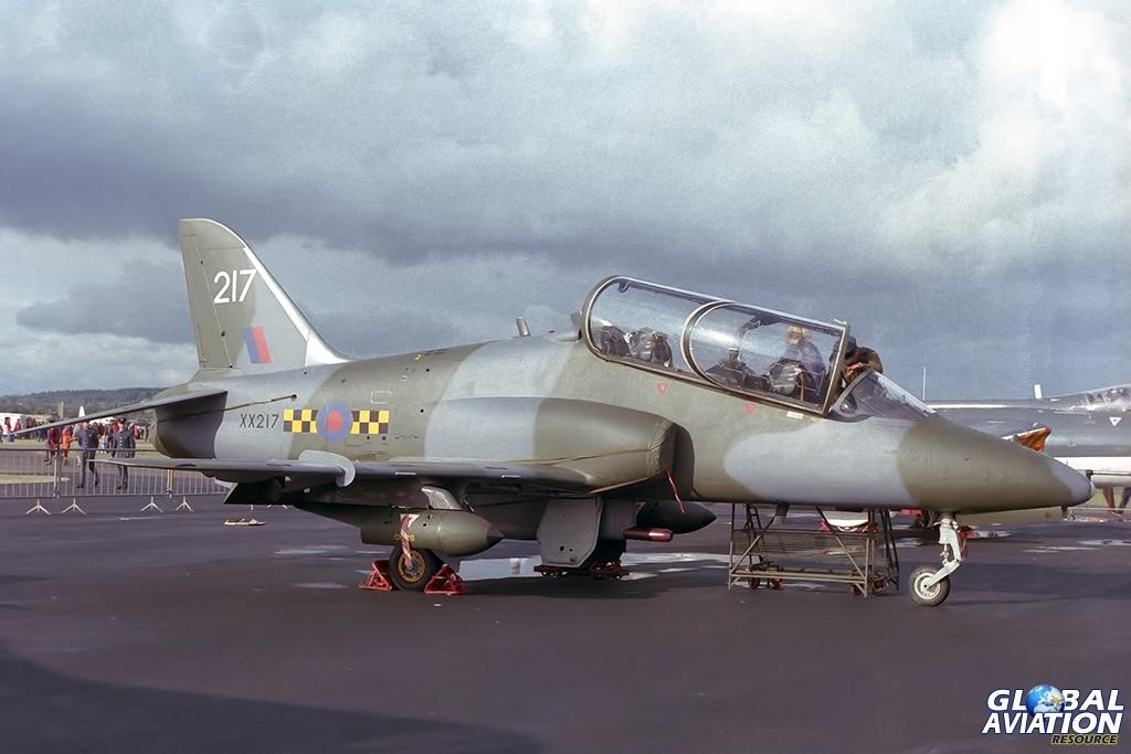 63 Squadron Hawk T.1 XX217 - © Paul Filmer- Global Aviation Resource