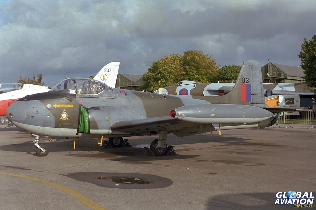 79 Squadron Jet Provost T.4 XP547 - © Paul Filmer- Global Aviation Resource