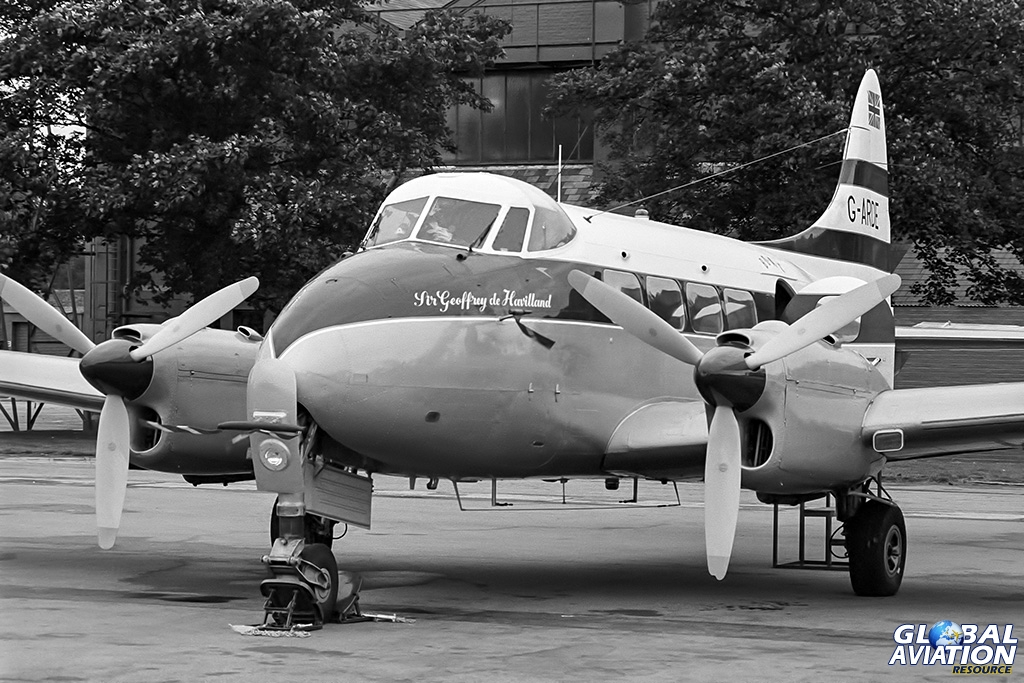 DH104 Dove 6 G-ARDE - © Paul Filmer- Global Aviation Resource