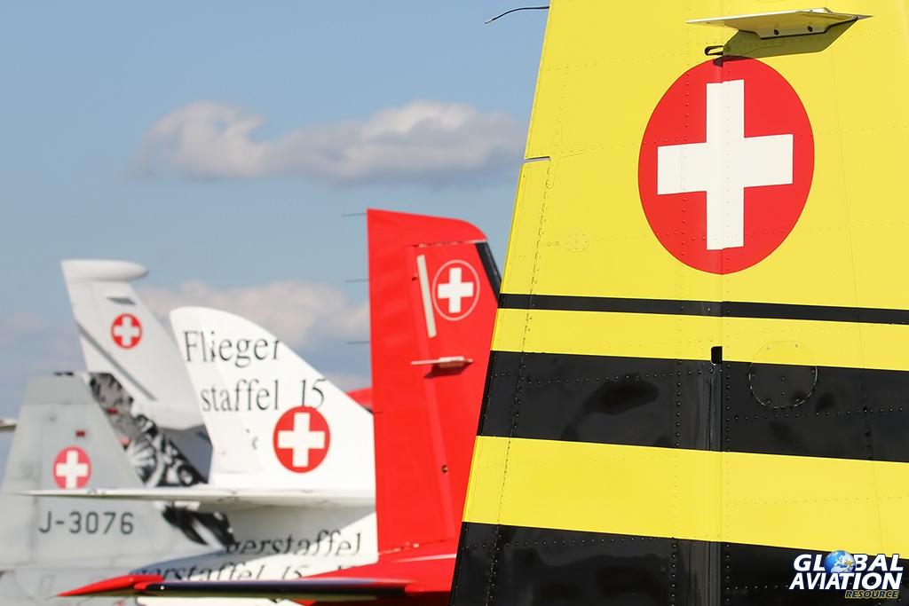 Swiss Air Force PC-9 © Dean West - globalaviationresource.com