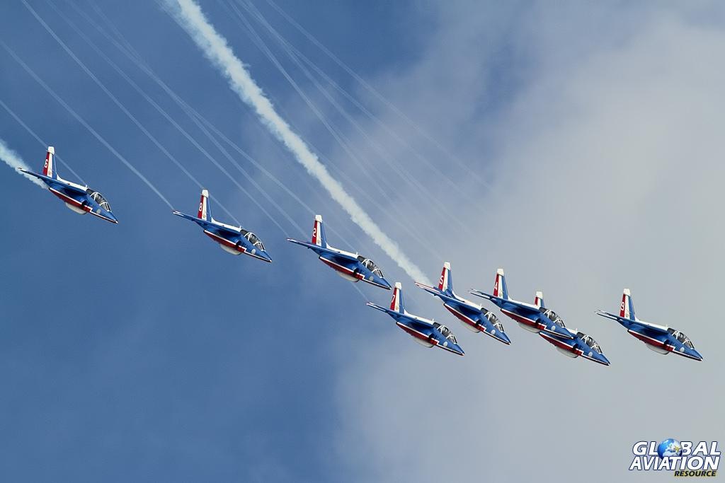 Patrouille de France © Dean West - globalaviationresource.com