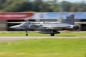 Swedish Air Force Gripen JAS-39C © Dean West - globalaviationresource.com