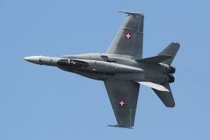 Swiss Air Force F/A-18C Hornet © Dean West - globalaviationresource.com