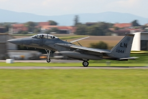 United States Air Forces in Europe F-15D Eagle © Dean West - globalaviationresource.com