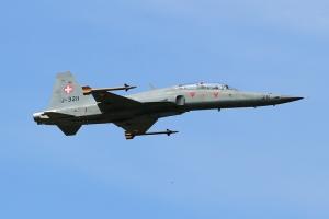 Swiss Air Force F-5F Tiger II © Dean West - globalaviationresource.com