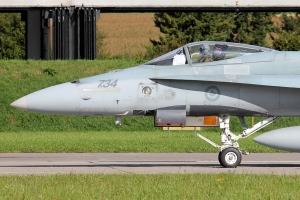 Canadian Armed Forces CF-18A Hornet © Dean West - globalaviationresource.com