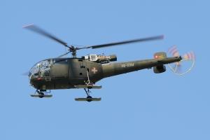 Civilian SA316B Alouette III © Dean West - globalaviationresource.com