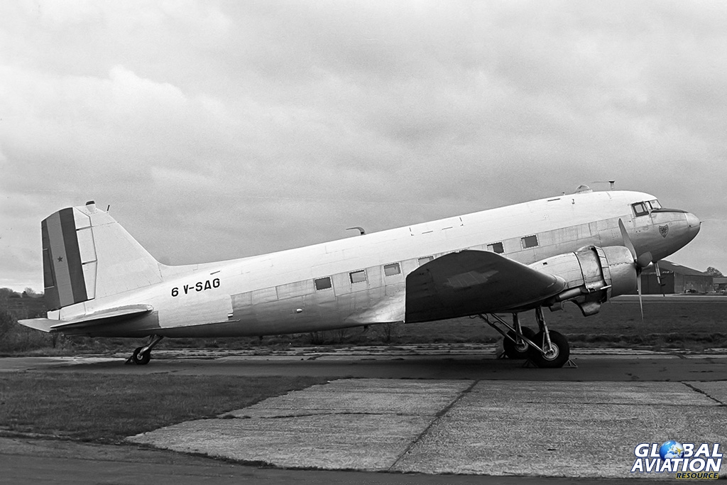 ex-Senegal Air Force C-47B 6V-SAG - © Paul Filmer- Global Aviation Resource