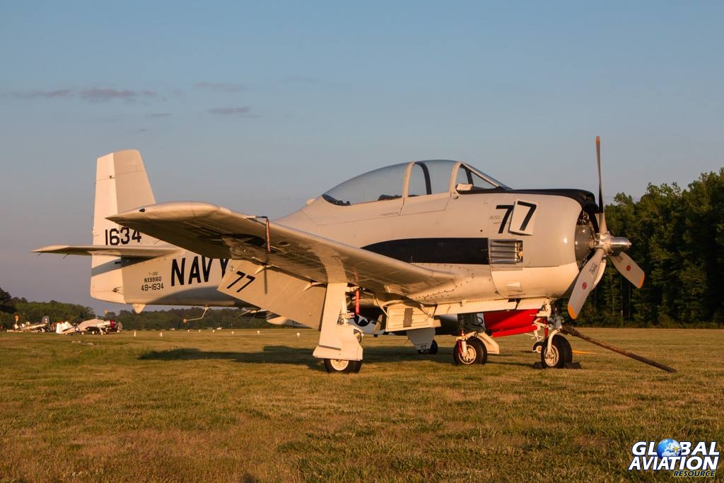 T-28D N99160 at the Fighter Factory, Virginia Beach, 17 May 2014 - © Liza Eckardt - Photoz by Liza
