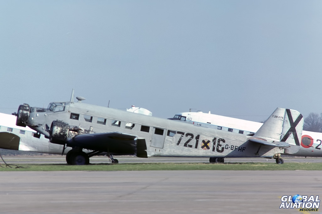 CASA 325L G-BFHF - © Paul Filmer - Global Aviation Resource