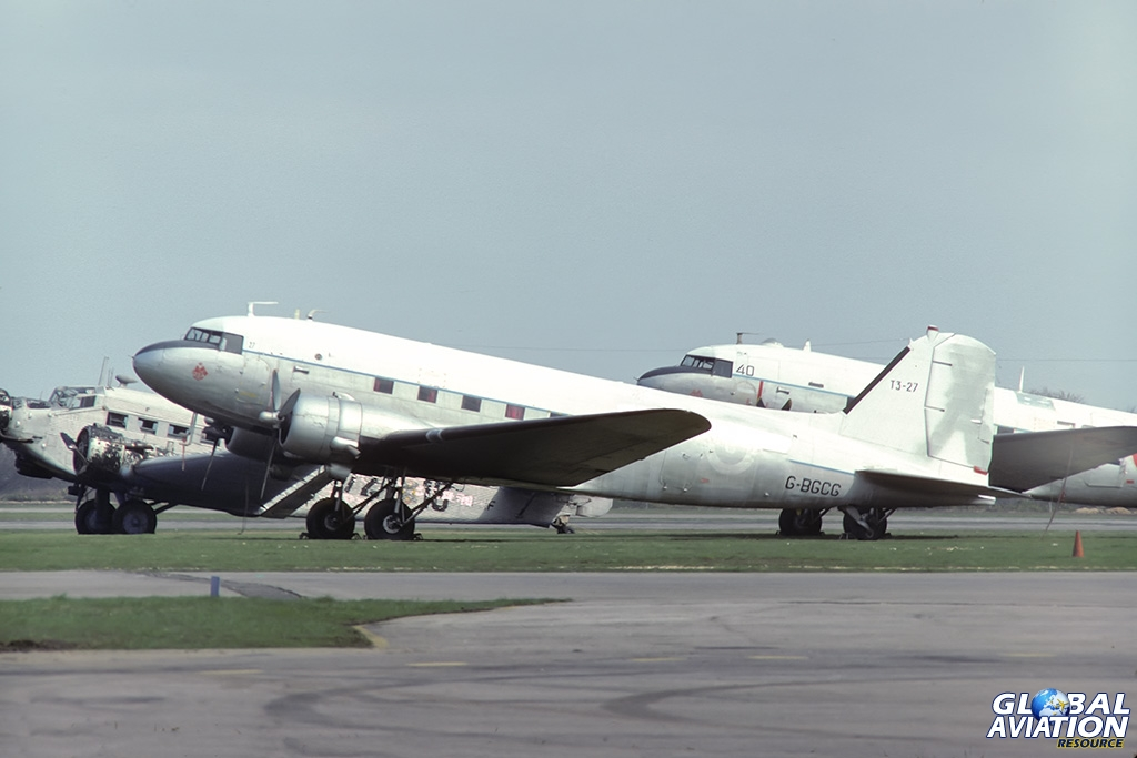 C-47B G-BGCG - © Paul Filmer - Global Aviation Resource