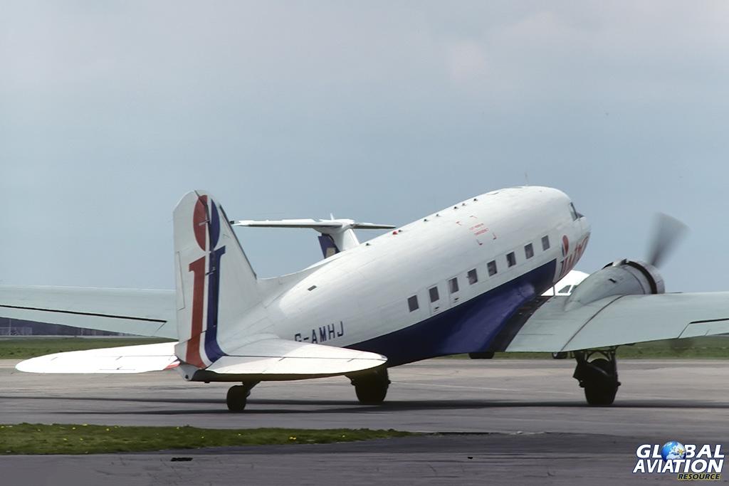 Intra Airways C-47A G-AMHJ - © Paul Filmer - Global Aviation Resource