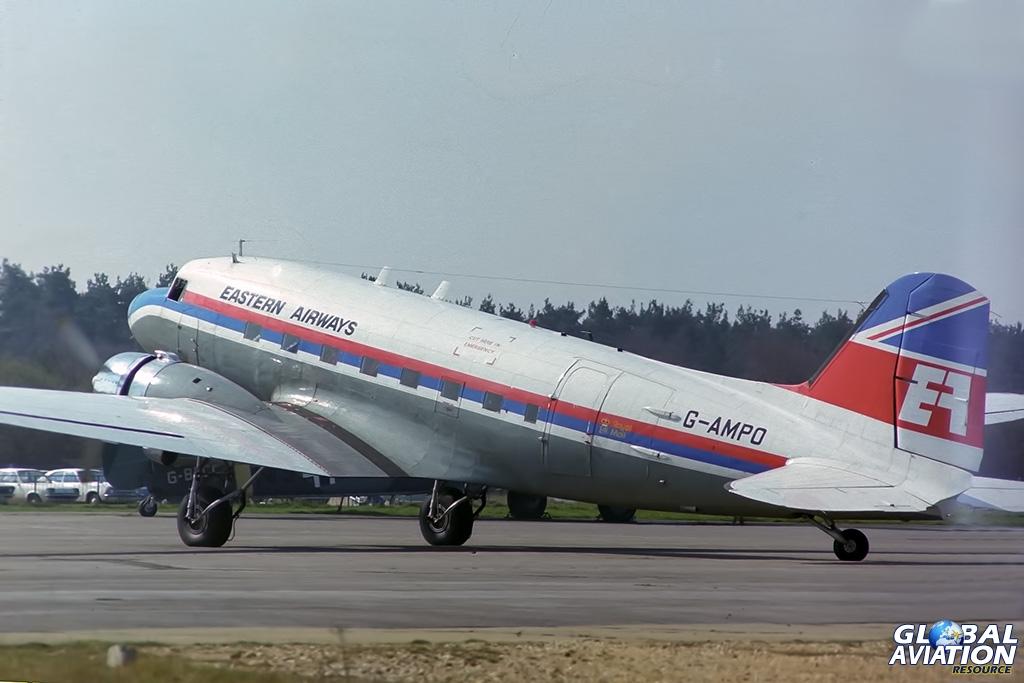 Eastern Airways C-47B G-AMPO - © Paul Filmer - Global Aviation Resource