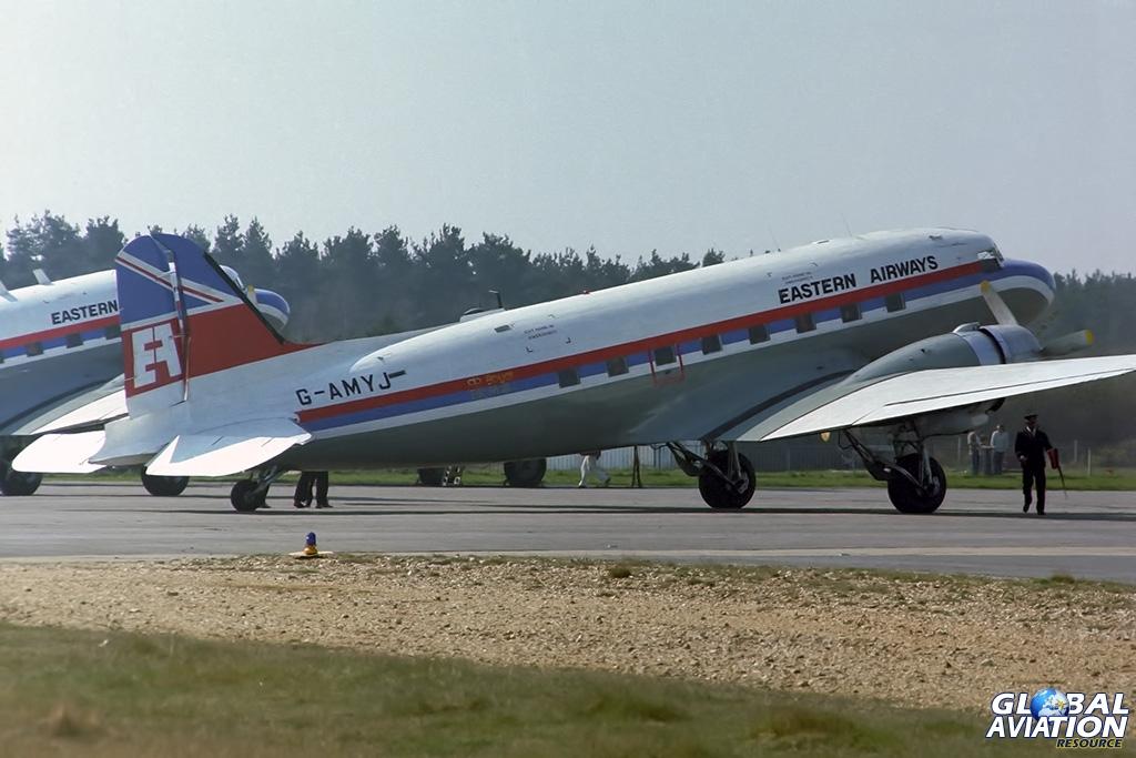 Eastern Airways C-47B G-AMYJ - © Paul Filmer - Global Aviation Resource