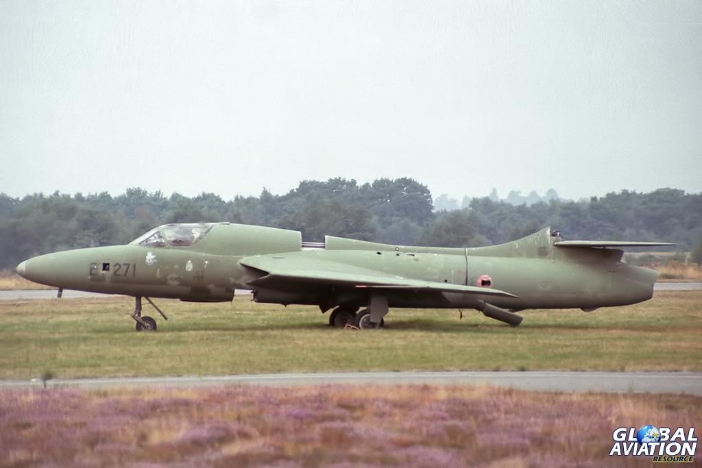 Ex Royal Danish Air Force Hunter T.7 ET-271 - © Paul Filmer - Global Aviation Resource