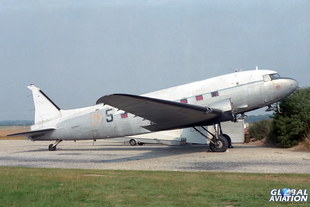 C-47B N5595T ex G-BGCG - © Paul Filmer - Global Aviation Resource