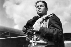 Wing Commander Guy Gibson, the Commanding Officer of 617 Squadron, pictured in the Summer of 1943 © Crown Copyright