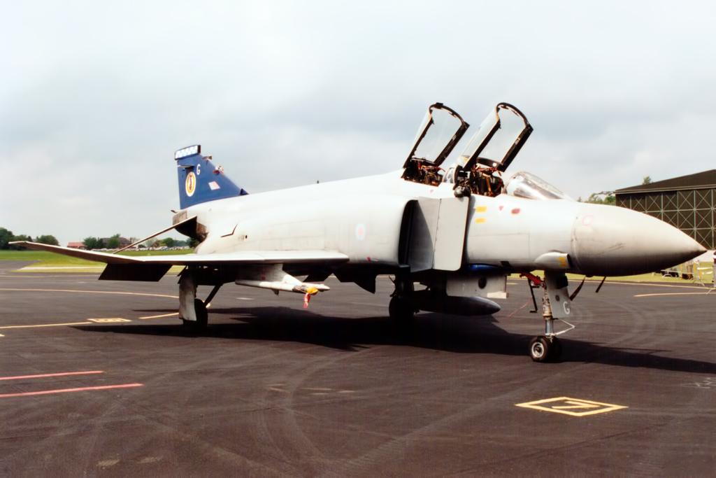 RAF F-4 Phantom © Gareth Stringer
