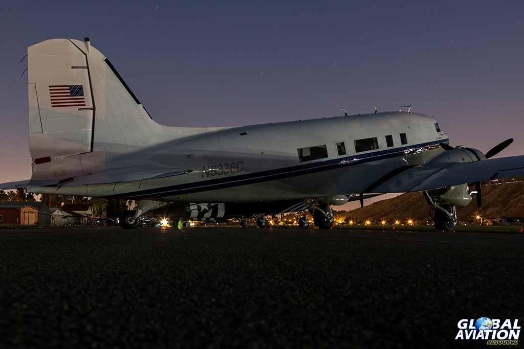 DC-3A N8336C - © Paul Filmer - Global Aviation Resource