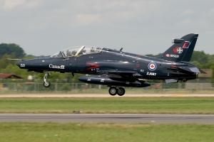 Canadian Air Force CT-155 departing RAF Fairford © John Higgins - www.globalaviationresource.com