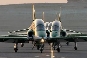 Saudi Hawks taxi in © Karl Drage - www.globalaviationresource.com