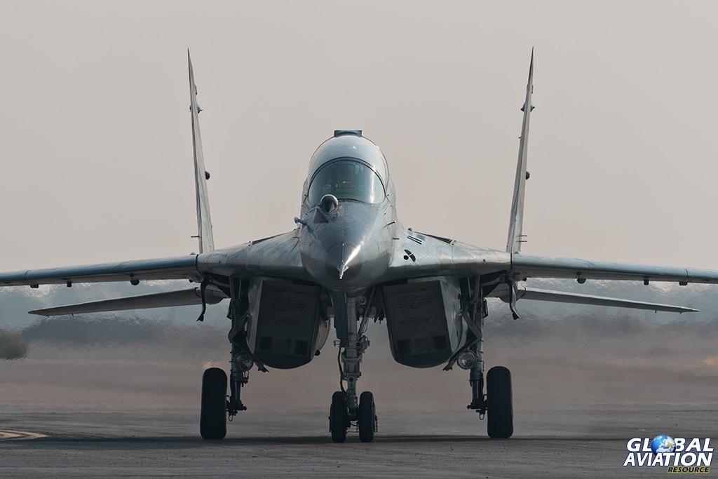 IRIAF MiG-29UB - © Paul Filmer - Global Aviation Resource