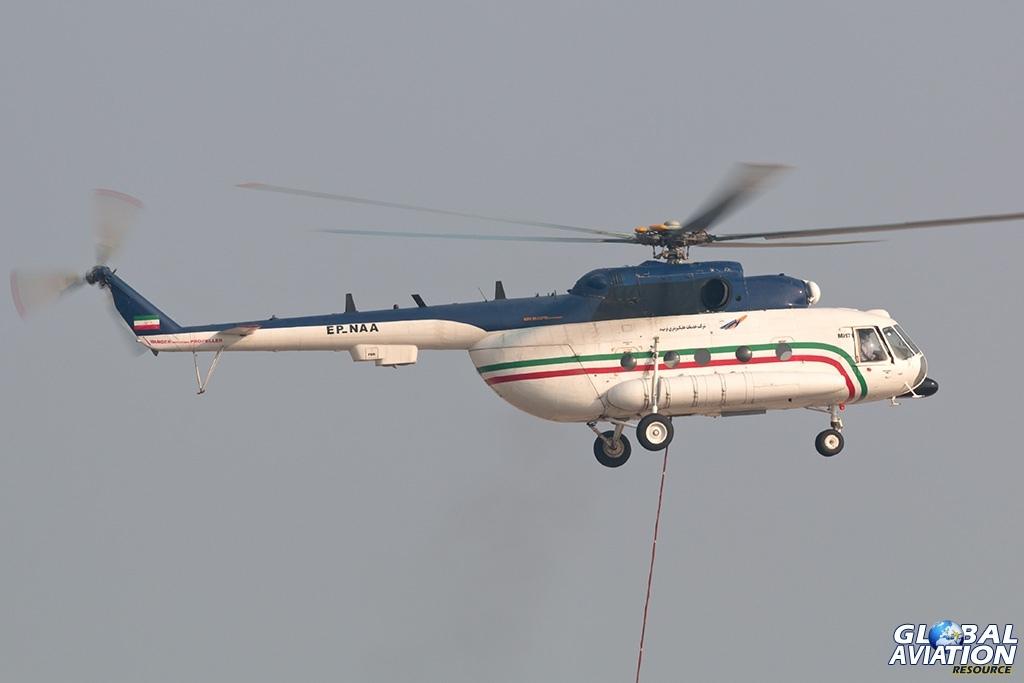 Navid Air Mi-171 - © Paul Filmer - Global Aviation Resource