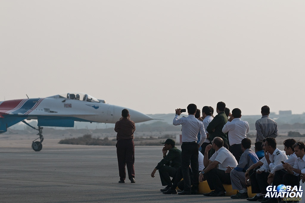 Russian Knights Su-27 - © Paul Filmer - Global Aviation Resource