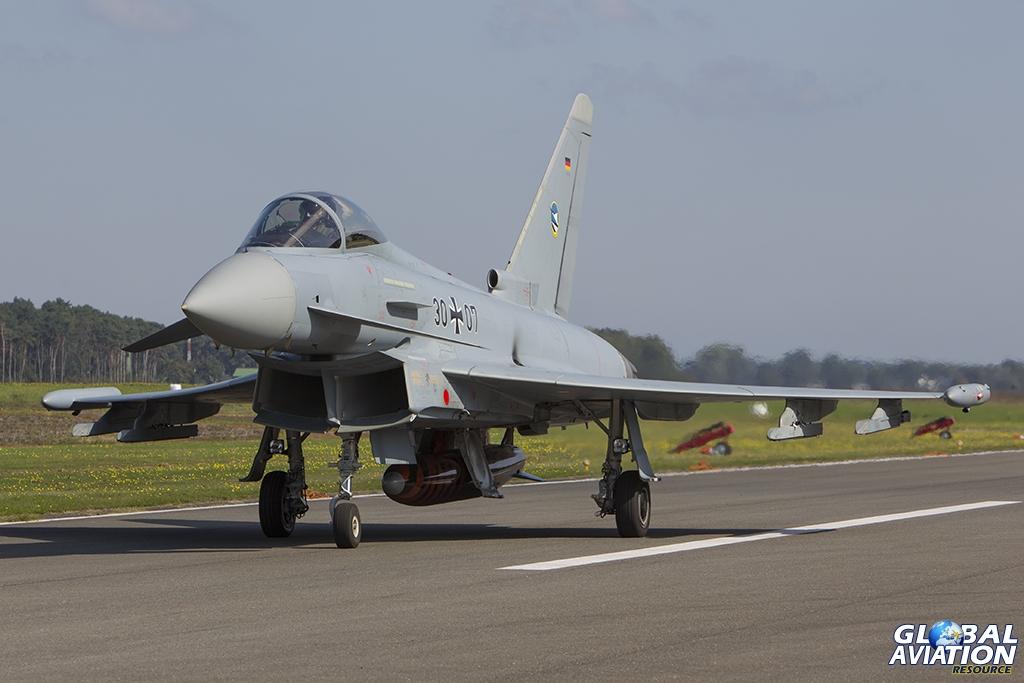 German Air Force/TLG-74 Eurofighter EF2000 © Tom Gibbons - Global Aviation Resource