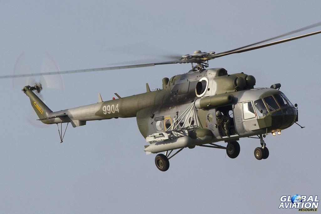 Czech Air Force/222.vrlt Mil Mi-171Sh © Tom Gibbons - Global Aviation Resource