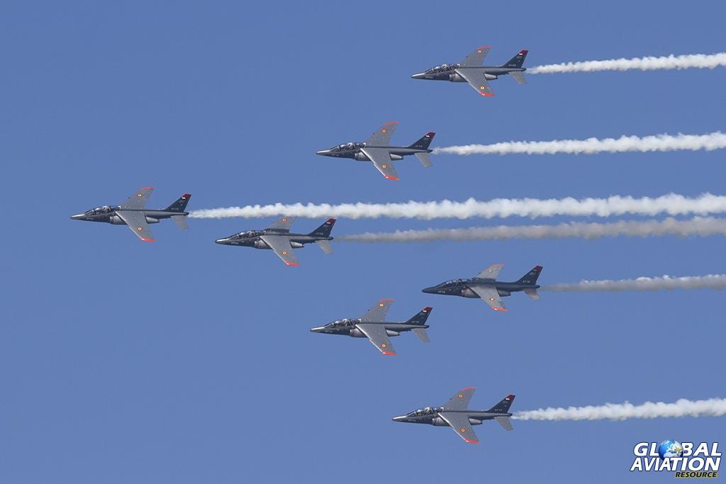 Belgian Air Force/ETO 02.008 - French - Belgium Advanced Jet Training School (AJeTS)/7 x Alpha Jet © Tom Gibbons - Global Aviation Resource