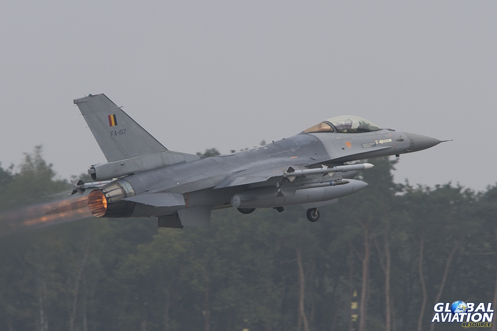 Belgian Air Force/10 Wing F-16AM © Tom Gibbons - Global Aviation Resource