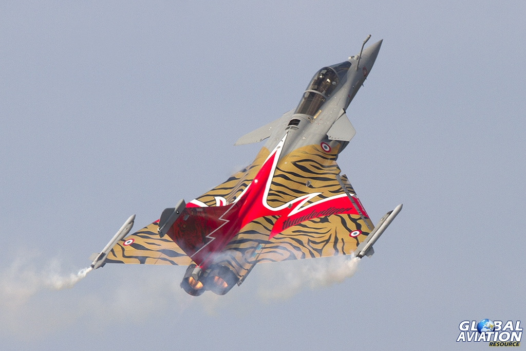 'Thundertiger' - French Air Force/EC 01.007 'Provence' Rafale C © Tom Gibbons - Global Aviation Resource