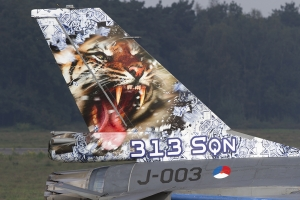 Royal Netherlands Air Force/313 Sqn Tiger Tail F-16AM © Tom Gibbons - Global Aviation Resource