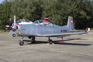 Old School Flying Machines/Pilatus P-3 © Tom Gibbons - Global Aviation Resource