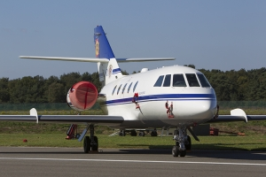Belgian Air Force/21 Squadron Falcon 20E © Tom Gibbons - Global Aviation Resource