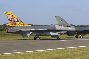 Belgian Air Force/31 Squadron specially marked F-16AM © Tom Gibbons - Global Aviation Resource