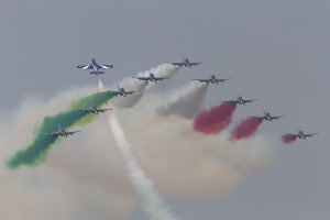 Italian Air Force/Frecce Tricolori Aermacchi AT-339A © Tom Gibbons - Global Aviation Resource